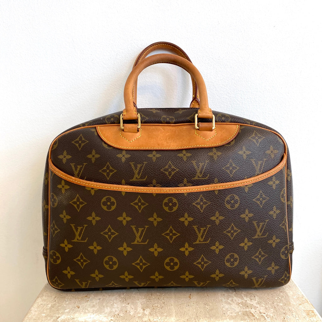 Authentic LOUIS VUITTON Monogram Deauville Handbag