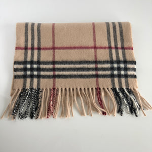 Authentic BURBERRY Beige Scarf
