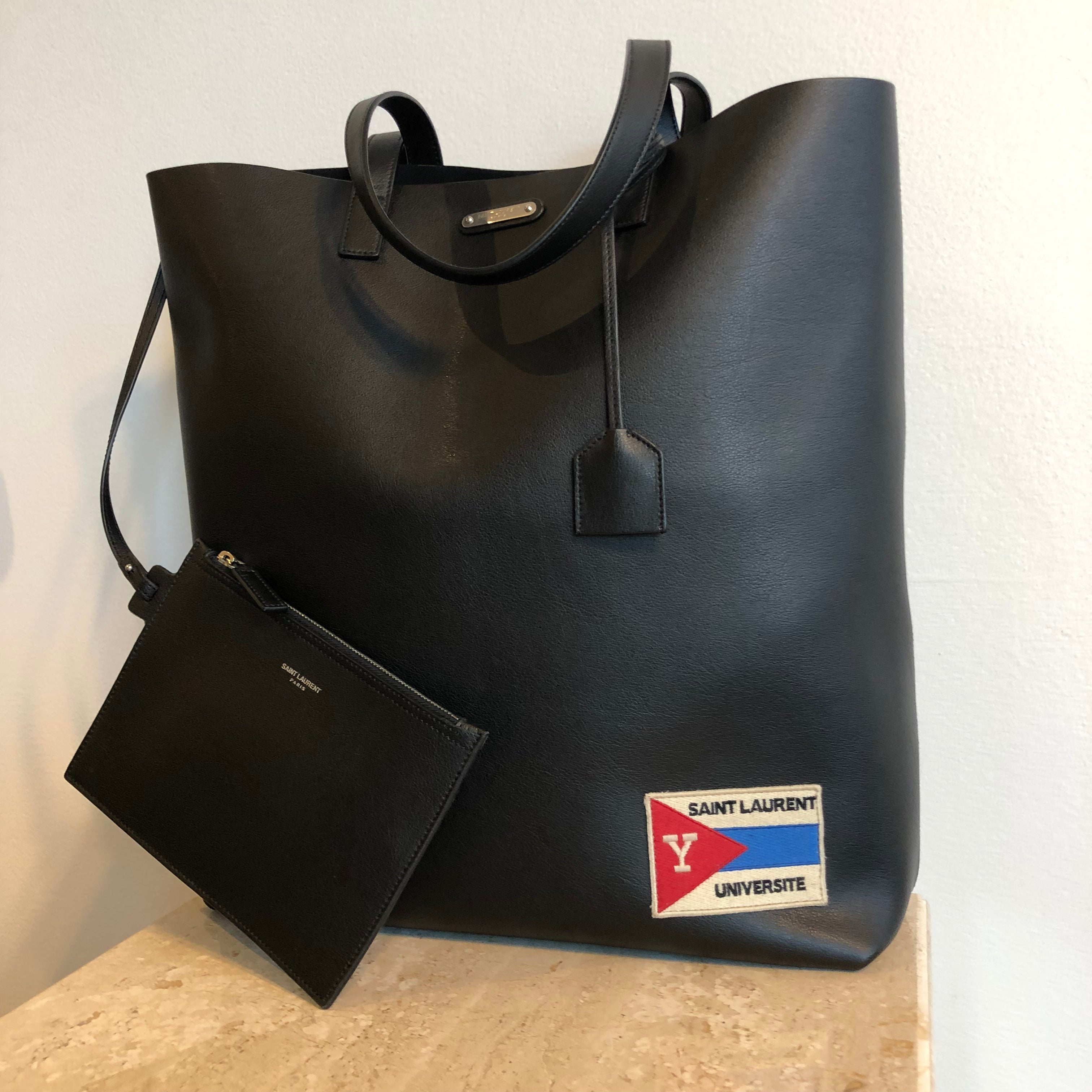 Authentic SAINT LAURENT Universite Tote