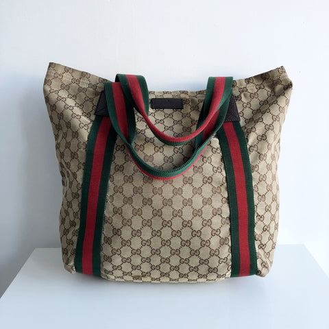 Authentic GUCCI Monogram Large Tote