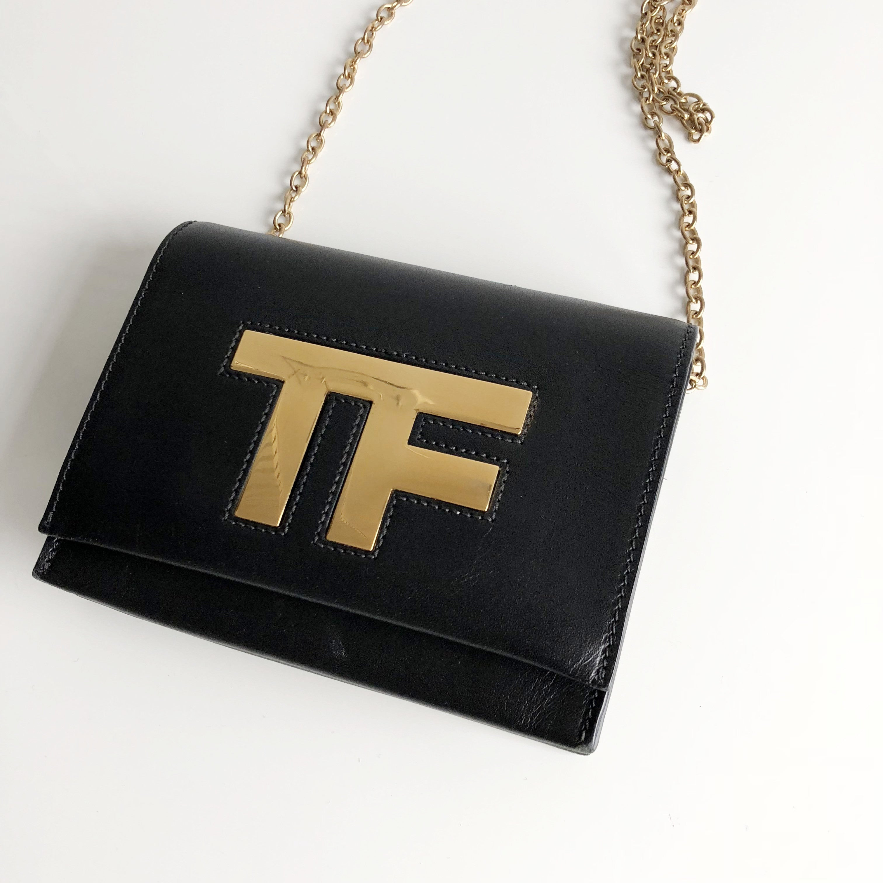 Authentic Tom Ford Micro Shoulder Woc Valamode