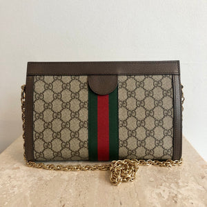 Authentic GUCCI Ophidia GG Small Shoulder Bag