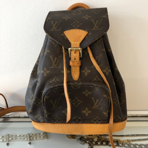Authentic LOUIS VUITTON Small Backpack