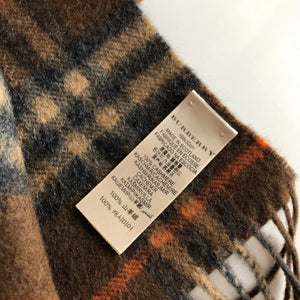 Authentic BURBERRY Cashmere Scarf