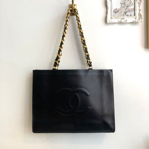 Authentic CHANEL Vintage Large Tote
