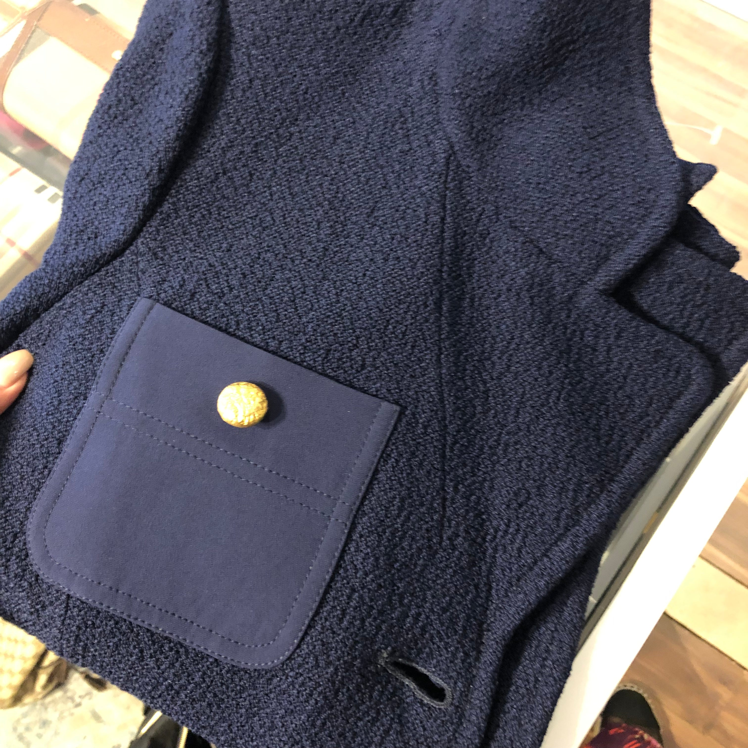 Authentic St John Navy Blazer