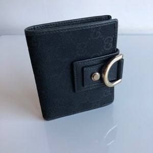 Authentic GUCCI Abbey Small Canvas Wallet