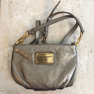 Authentic MARC BY MARC JACOBS Metallic Gold Crossbody