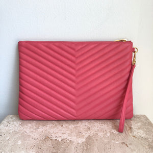 Authentic Yves Saint Laurent Matelasse Clutch/Wristlet