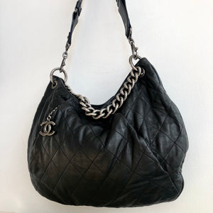 Authentic CHANEL Hobo Chain Crossbody