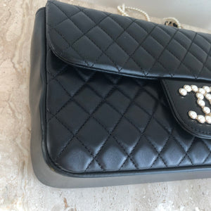 Authentic CHANEL Westminster Pearl Medium Flap Bag