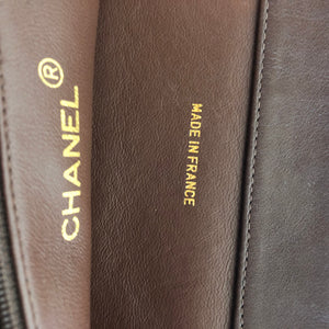Authentic CHANEL Large Lambskin Tote Shopper