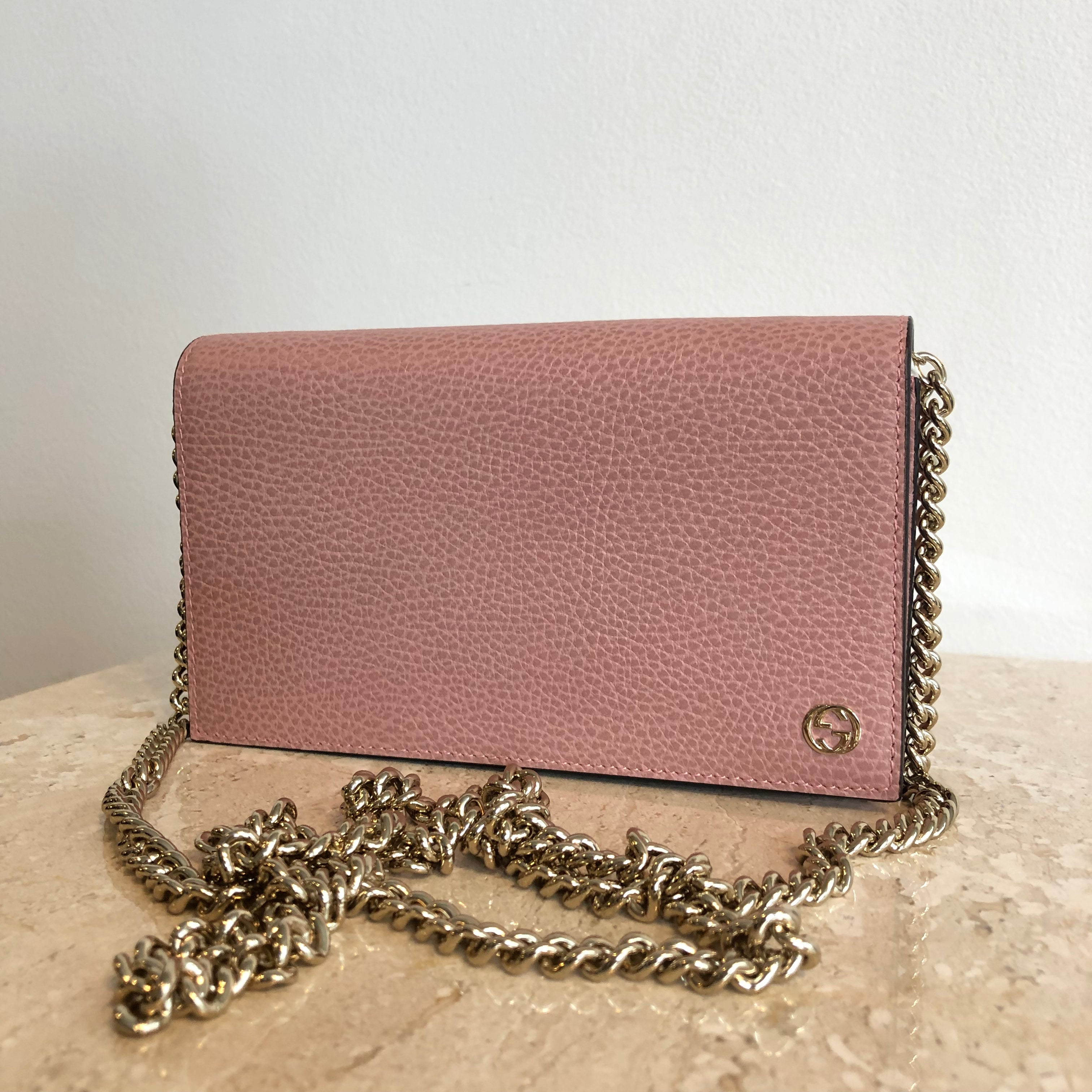 Authentic GUCCI Wallet on Chain