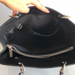 Authentic CHANEL Black Caviar GST Tote