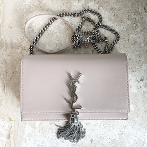 Authentic Yves Saint Laurent Small Kate Wallet Tassel