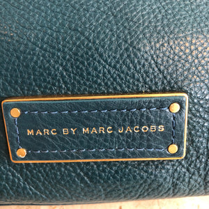 Authentic MARC BY MARC JACOBS Teal Leather Crossbody