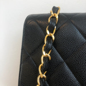 Authentic CHANEL Vintage Jumbo Square Flap Tote