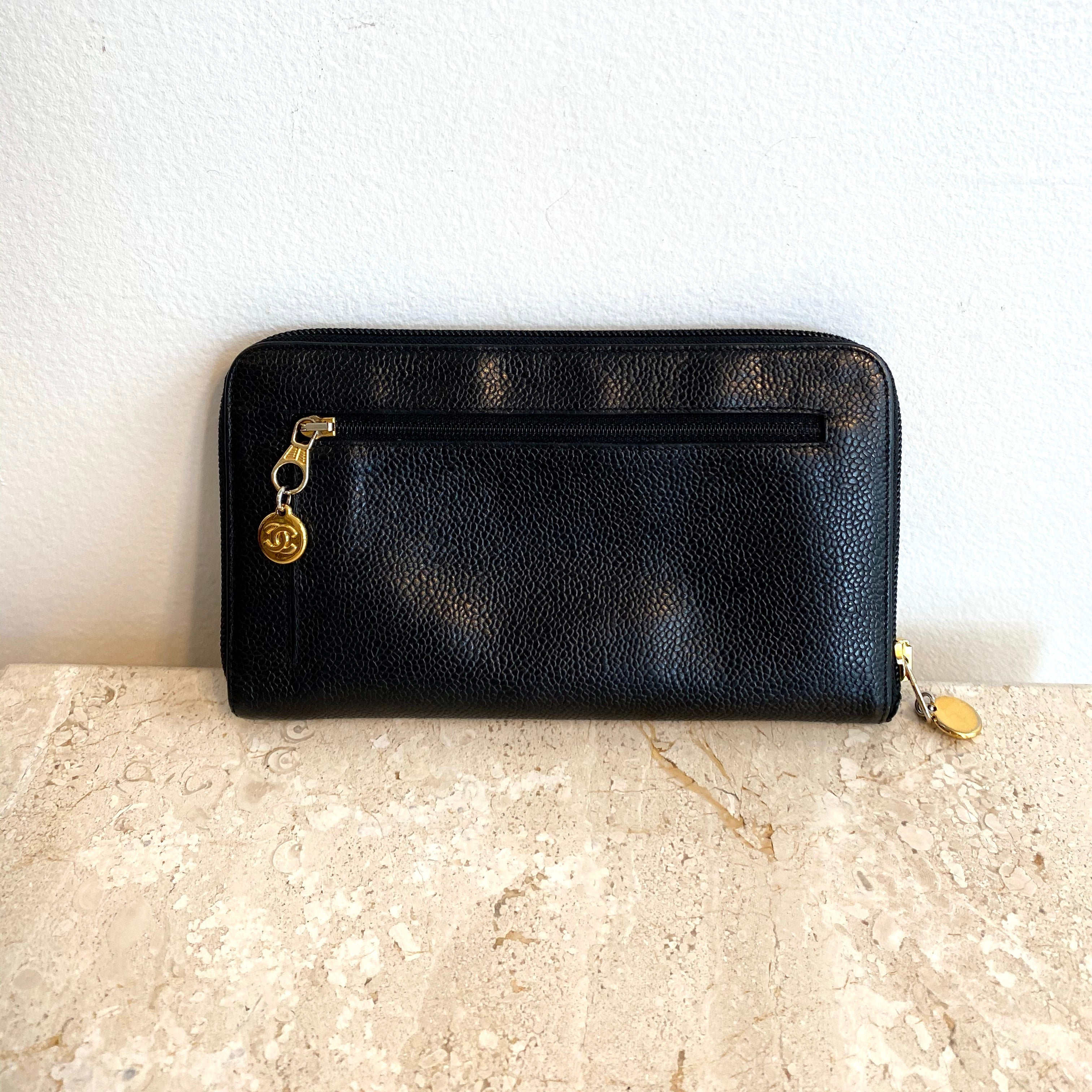 Authentic CHANEL Timeless Large Zippy Wallet