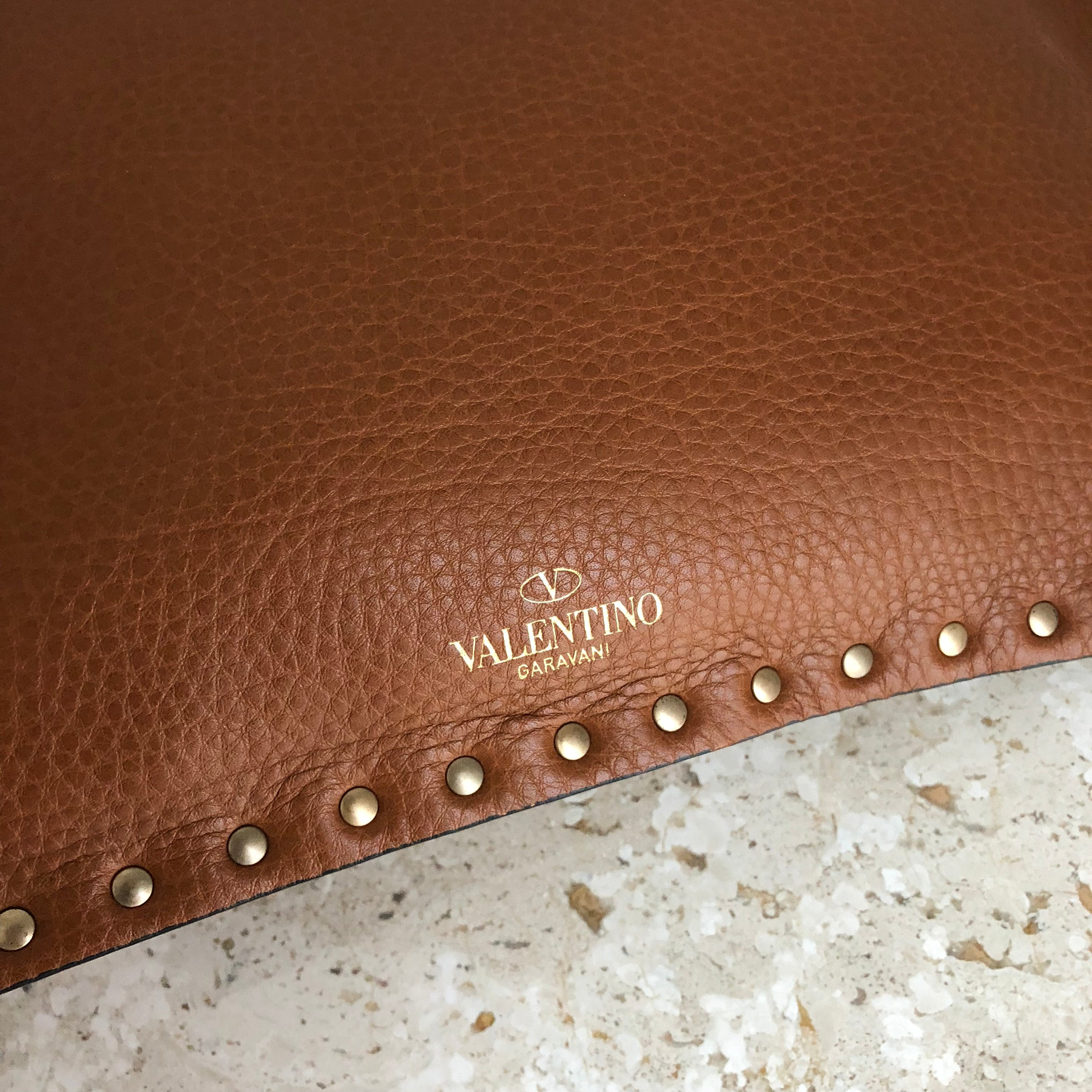 Authentic VALENTINO Rockstud Clutch Bag