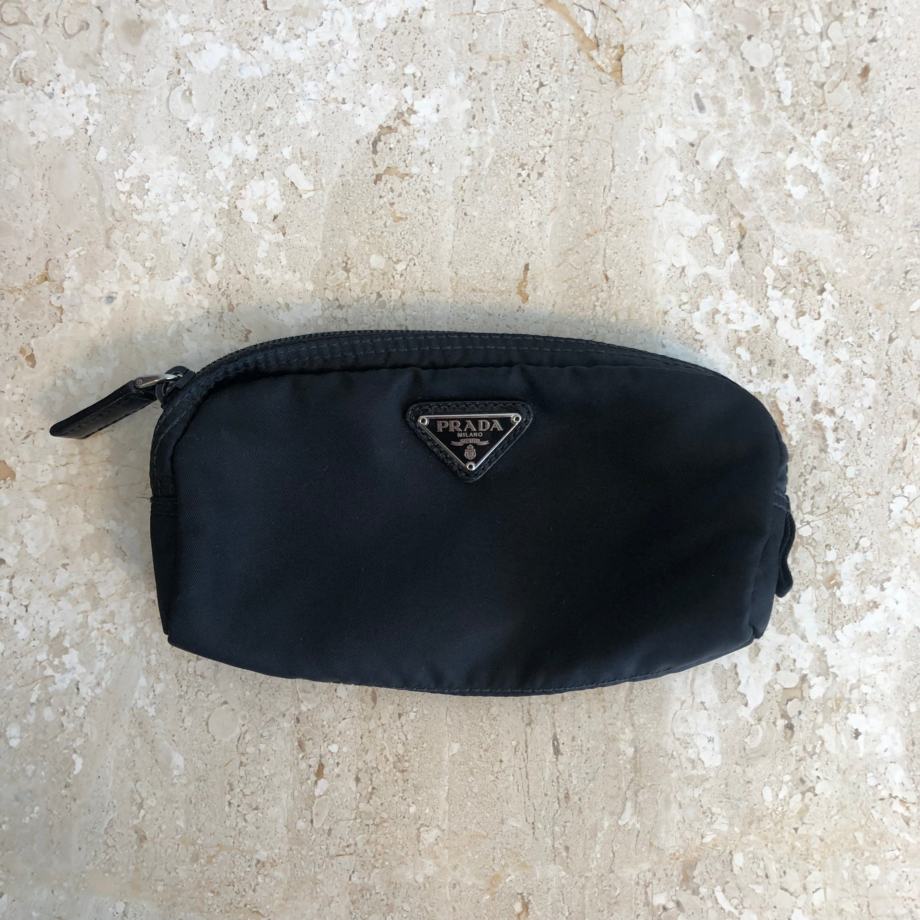 Authentic PRADA small Pouch ML 347
