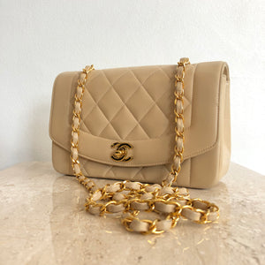 Authentic CHANEL Diana Flap Bag