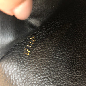 Authentic LOUIS VUITTON Adele Emprient Leather Wallet