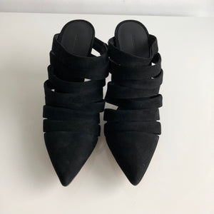 Authentic ALEXANDER WANG Britt Suede Shoes Size 8