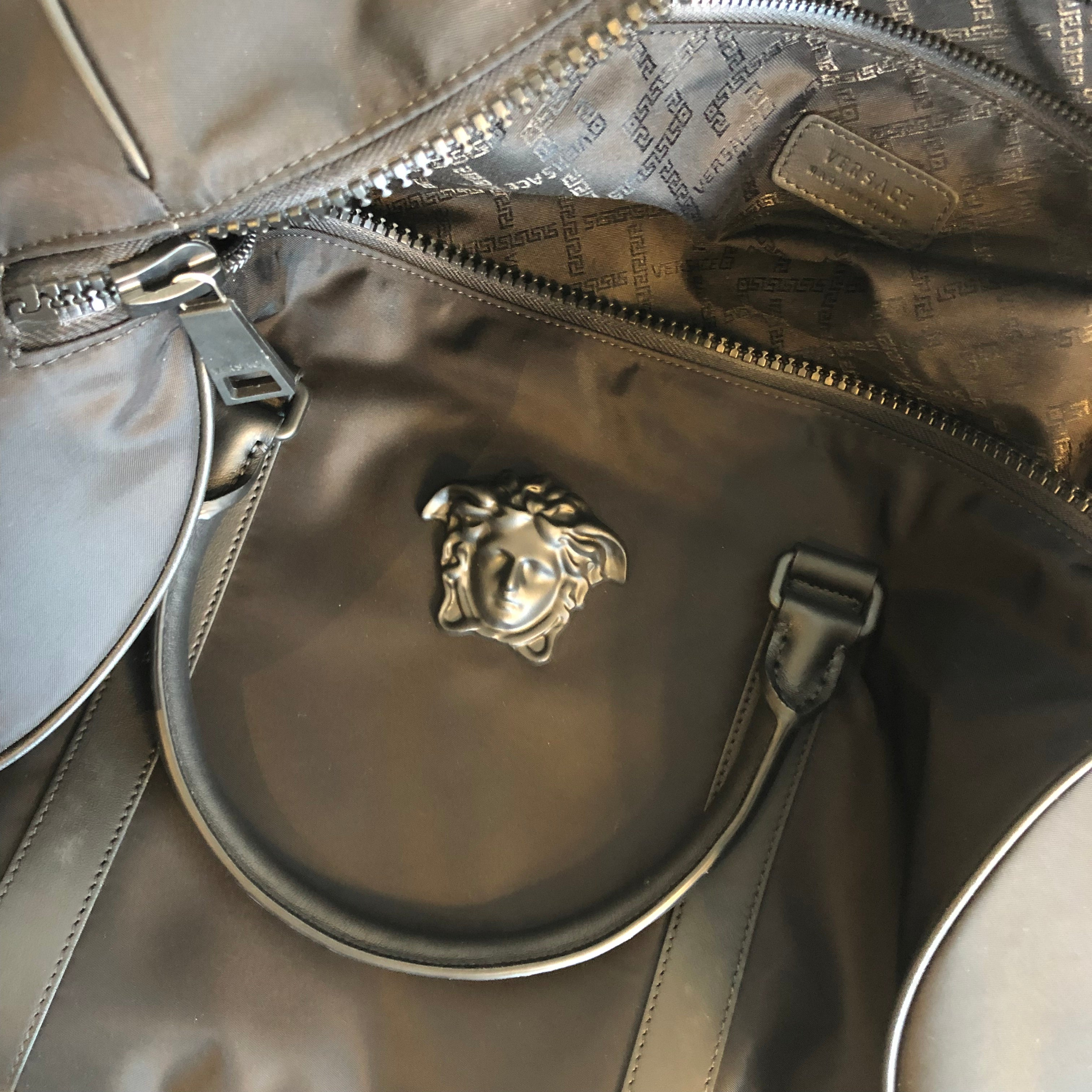 Authentic VERSACE Travel Bag