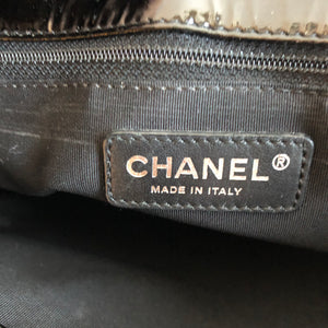 Authentic CHANEL Patent Leather GST Tote
