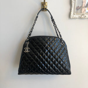 Authentic CHANEL Quilted Just Mademoiselle Bowling Bag