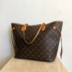Authentic LOUIS VUITTON Monogram Neverfull MM