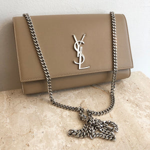 Authentic YVES SAINT LAURENT Medium Kate Bag