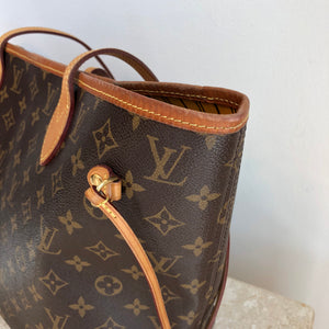 Authentic LOUIS VUITTON Neverfull MM Mimosa