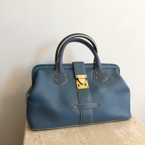 Authentic LOUIS VUITTON Suhali L'ingenieux Leather PM Handbag