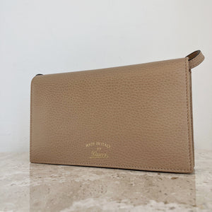 Authentic GUCCI Swing Tan Wallet Crossbody