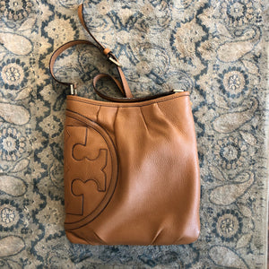 Authentic TORY BURCH Tan Crossbody