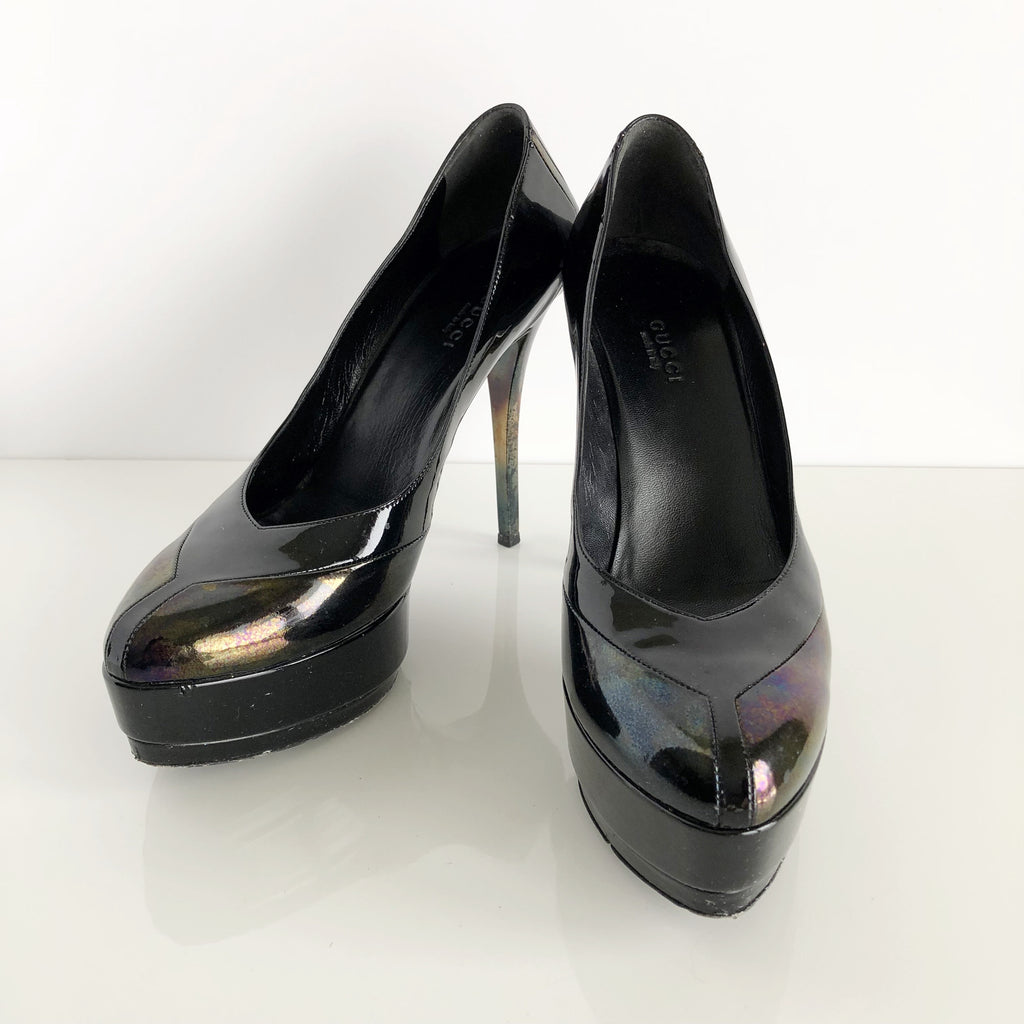 Authentic GUCCI Platform Pumps Size 8.5