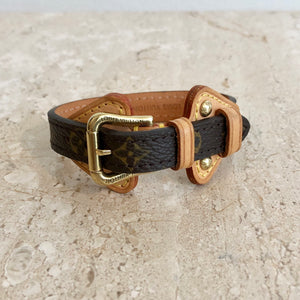 Authentic LOUIS VUITTON Monogram Theda Bracelet