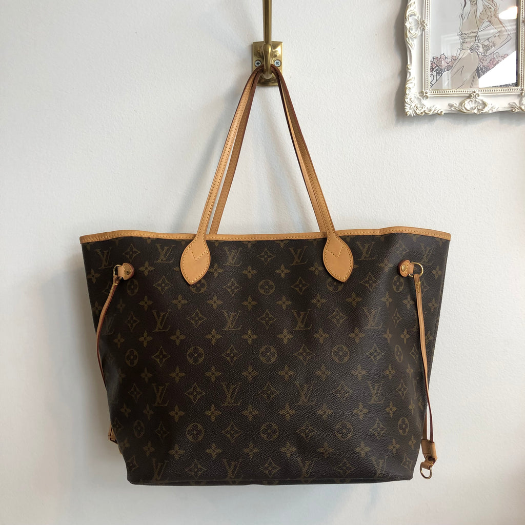 a5fdee18fa4e Authentic LOUIS VUITTON Monogram Neverful MM