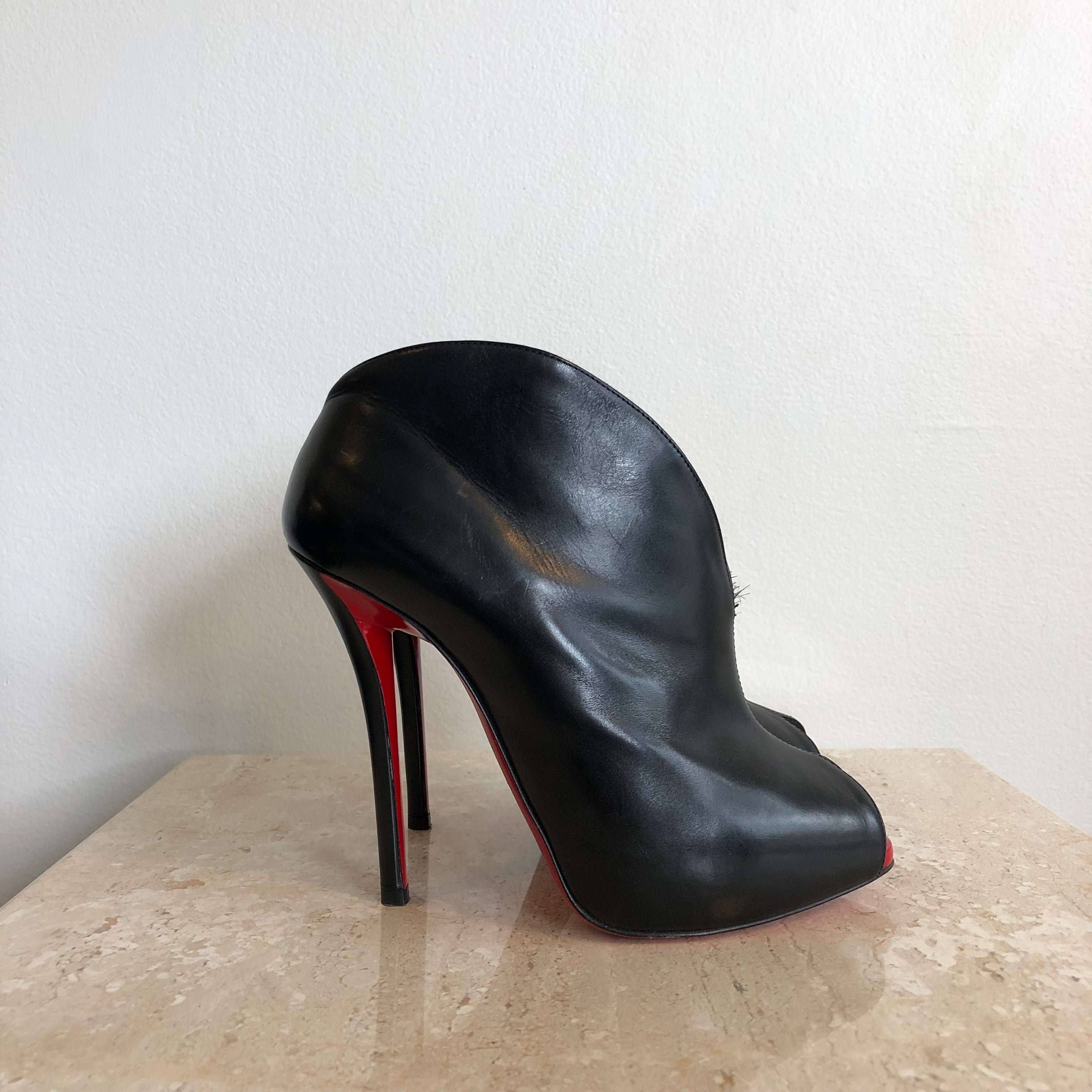 Authentic CHRISTIAN LOUBOUTIN Booties 37.5
