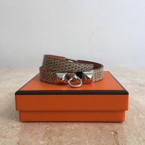 Authentic HERMES Rivale Double Tour Bracelet