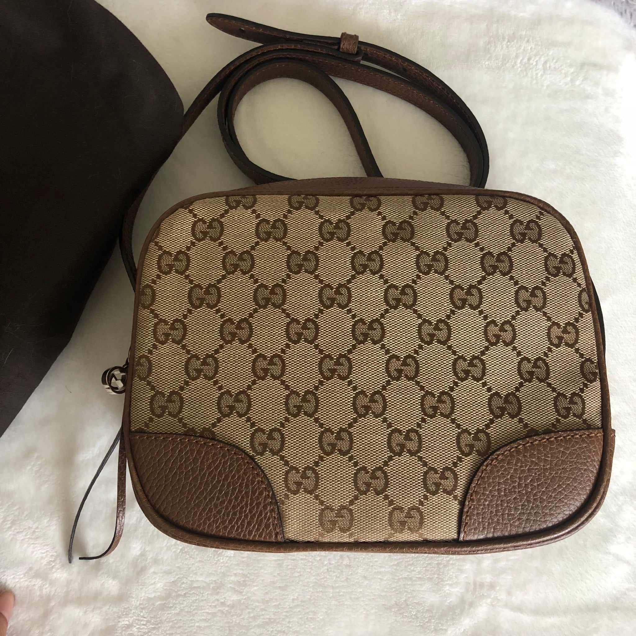 Authentic GUCCI Mini Bree Messenger Bag
