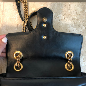 Authentic GUCCI Marmont small Matelassé Bag