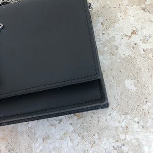 Authentic YVES SAINT LAURENT Small Kate Chain Wallet Tassel