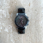 Authentic LINKS OF LONDON Phoebe Black Ceramic Chronograph Watch