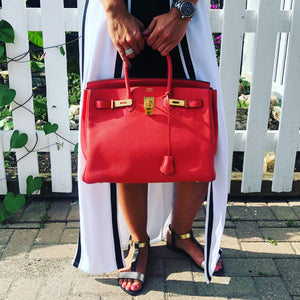 Authentic Hermes Birkin 35