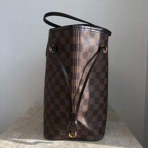 Authentic LOUIS VUITTON Neverfull Damier Ebene MM