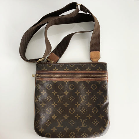 Authentic LOUIS VUITTON Vintage Monogram Messenger