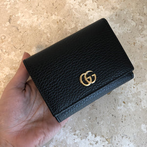 Authentic GUCCI Marmont Small Compact Wallet
