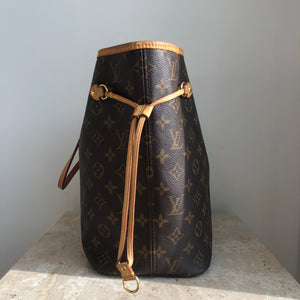 Authentic LOUIS VUITTON Neverfull Monogram MM